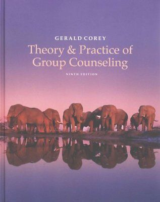Theory and Practice of Group Counseling by Gerald Corey 9781305088016