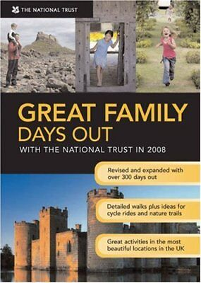 Great Family Days Out 2008 (National Trust) By National Trust