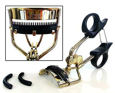 Eyelash Curler with Built-In Comb Attachment. Best New Professional Tool Lashes,