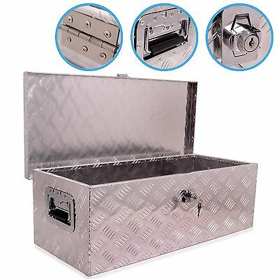 2.5ft 76cm ALLOY L200 TRANSIT NAVARA TRUCK VAN TOOL SECURITY CHEST VAULT SAFE