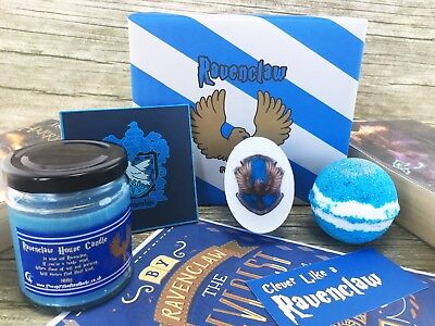 Ravenclaw House Gift Set - Harry Potter Gifts - Hogwarts Wizard - Bath Bombs