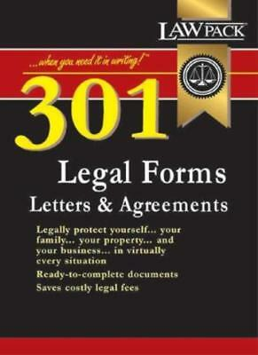 301 Legal Forms, Letters & Agreements. 9781898217114
