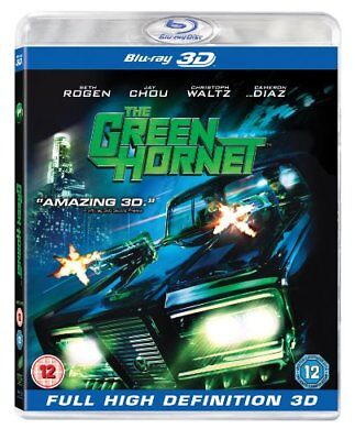 The Green Hornet (Blu-ray 3D + 2D Blu-ray) [2011] [Region Free] -  CD 9GVG The