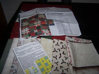 "Home For Christmas ""Stargazer"" Quilt Kit"