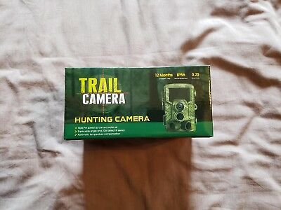 Coolife Trail Camera 1080P 16MP Wildlife Camera Motion Activated Night Vision 65