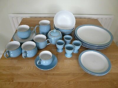 DENBY COLONIAL BLUE Dinner Service Items - £62.00 | PicClick UK