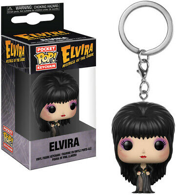 FUNKO POCKET POP! KEYCHAIN: Elvira, Mistress of the Dark [New Toys] Vinyl Figu