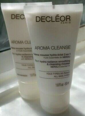 Decleor Aroma Cleanse 3 In 1 Hydra-Radiance Smoothing & Cleansing Mousse Duo
