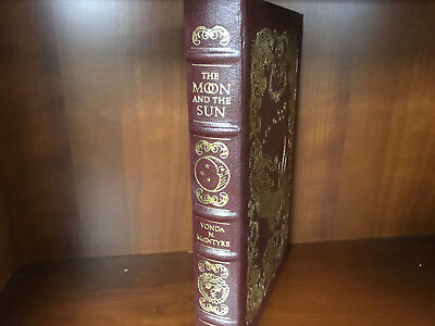 Easton Press-The Moon and the Sun by McIntyre-Masterpieces of Sci-Fi-NEAR MINT