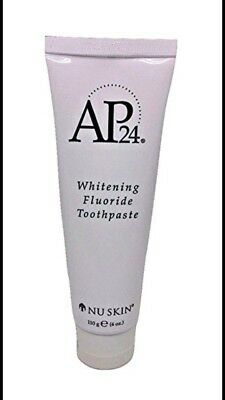 Genuine AP24 Whitening Fluoride Toothpaste no peroxide Tubes Delivery 5-7days