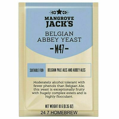 Mangrove Jack's M47 Belgian Abbey Ale Yeast - Craft Series - Homebrew Beer