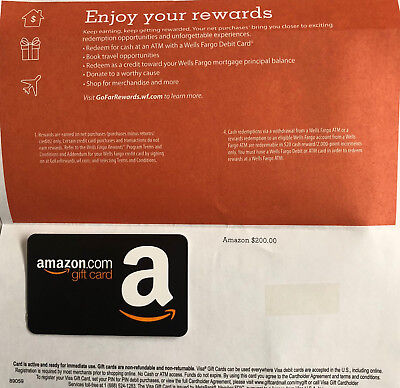 How To Use Wells Fargo Gift Card On Amazon - Gift Ideas