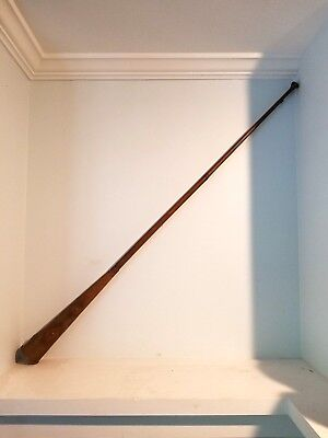 Antique 19th Century Late Victorian Metal Long Copper And Brass Hunting Horn