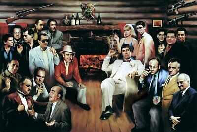 THE MEETING - TV & MOVIE GANGSTER POSTER 24x36 - 51062