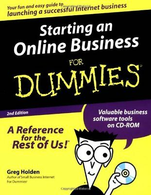 Starting an Online Business For Dummies By Greg Holden. 9780764506888
