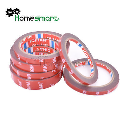 6/8/10/15/20MM*3M Strong Permanent Double-Sided Super Adhesive Sticky Tape