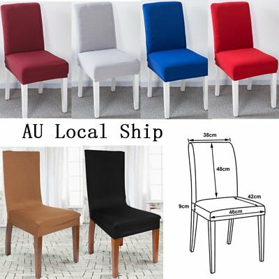 Lots Stretch Fit Dining Chair Covers Stretch Cover Protector Slipcover Washable