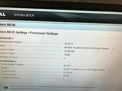 Dell PowerEdge R520 2 x Intel Xeon E5-2420 12 Core 128GB Perc H710 SAS 8x15 Hdd