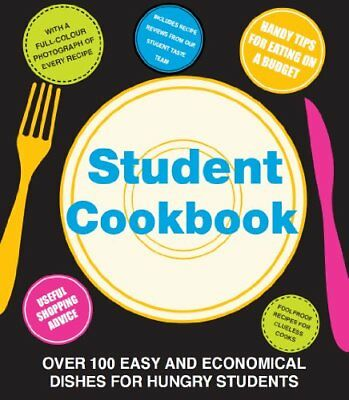 The Student Cookbook - Love Food By Parragon Books - Love Food