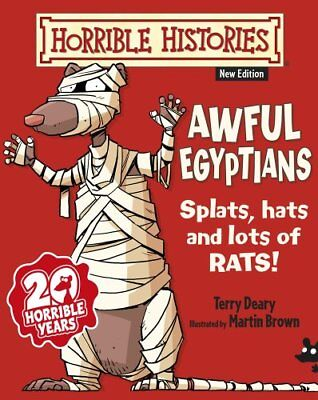 Awful Egyptians (Horrible Histories) By Terry Deary, Mike Phillips, Martin Brow