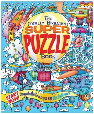 The Totally Brilliant Super Puzzle Book By Lisa Regan