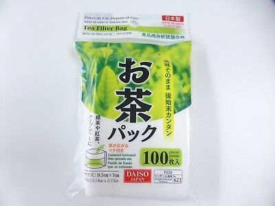 New product!! DAISO JAPAN TEA FILTER BAG 100pcs MADE IN JAPAN FREE SHIPPING