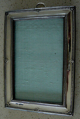 Antique Solid Silver Photograph Frame by Green & Cadbury Ltd 1917 Birmingham