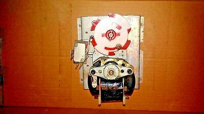 Soda Dixie Narco vending VEND MOTOR For Double Column RED/WHITE DISC 115v  #12