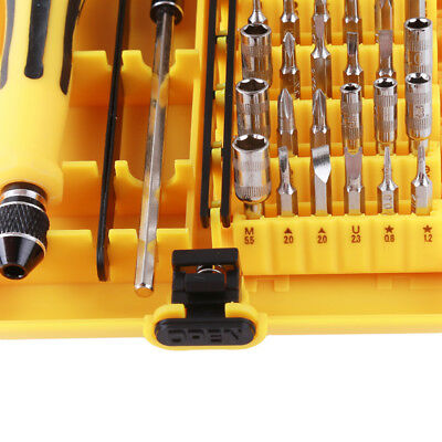 Useful 45 in 1 Precision Screwdriver Set For Mobile Phone Laptop PC Fixing ToolB