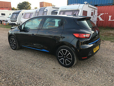 2013 Renault Clio Dynamique Media Nav Black Salvage Damaged Repair Cat Mk4