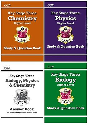Higher Ks3 Science Biology Chemistry Physics Revision Study & Question Answers