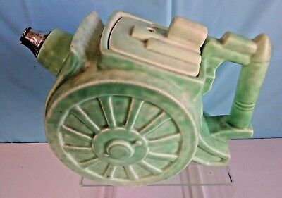 V. Rare George Clews 1930's Novelty WW1 Howitzer Field Gun Teapot