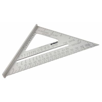 """6"""" Aluminium Alloy Roofing Rafter Speed Square Triangle Guide Roof - Am-Tech"""
