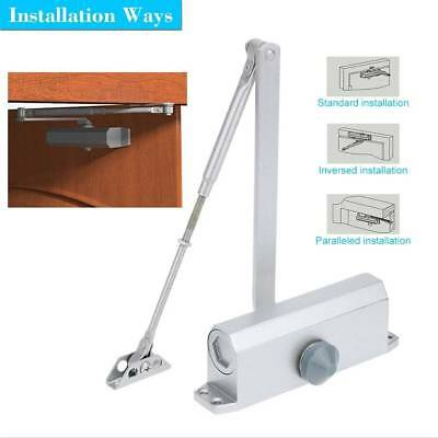 Aluminum Commercial Arm Door Closer Independent Valves Control Sweep 65- 85kg