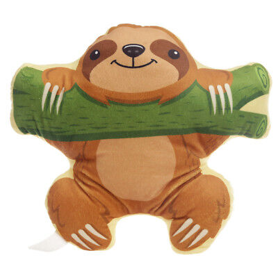Cute Sloth On Branch Super Soft Cushion Pillow New With Tags