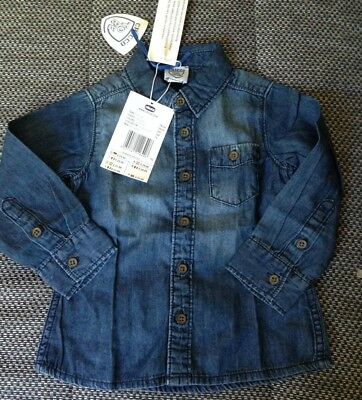 Chicco . Denim shirt . Age 18 months . New .