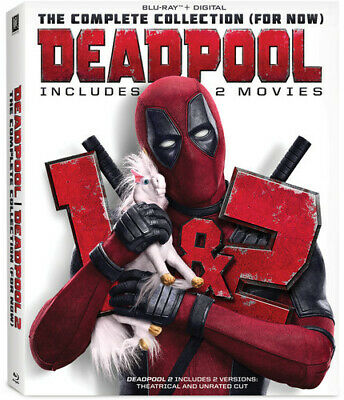 Deadpool 1+2 [New Blu-ray] With DVD, 2 Pack