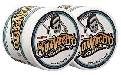 Suavecito Firme (Strong) Hold Pomade Unscented 4 oz / 113 g