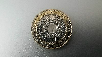 2014 Standing On The Shoulders Of Giants £2 Coin Lightly Circulated