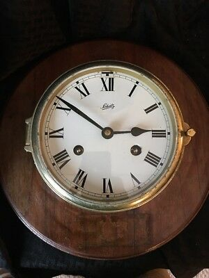 Vintage Schatz German Made Ship Clock