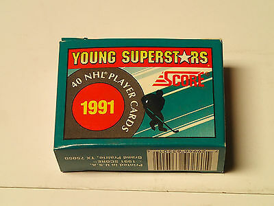 1991 Hockey Score  Young Superstars Set!  40 NHL cards
