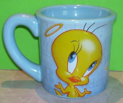 Large Tweety Bird Coffee/Tea Mug Warner Bros. Light Blue Mug 99% Angel Brothers