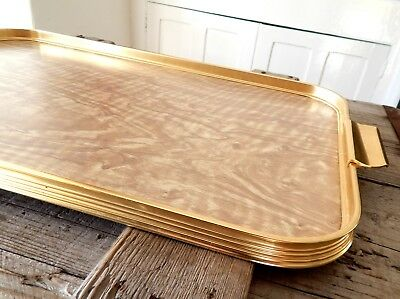 Vintage Retro 1960s Anodised  Melamine Tray Cocktail Drinks Mid Century Retro