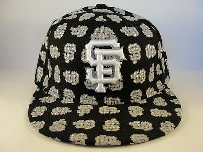 2888e0a244a76 San Francisco Giants MLB New Era 59FIFTY Fitted Cap Hat Size 7 1 4 Foldn
