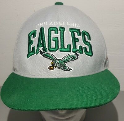 27337e2d2c5 NFL Philadelphia Eagles Mitchell and Ness Snapback Hat Gray   Green Size 7  ...