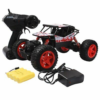 RC Monster Truck Off-Road Vehicle 2.4G Remote Control Buggy Crawler Car 4WD US
