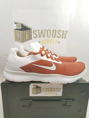 best service e2118 19020 NIKE FREE TRAINER V7 WEEK ZERO TEXAS LONGHORNS AA0881 800 Mens Shoes