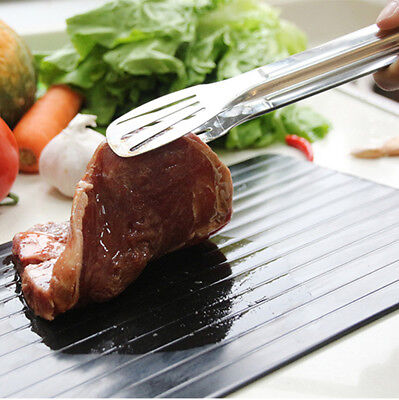 Aluminum Thawing Plate Fast Defrosting Tray Thaw Defrost For Meat or Frozen Food