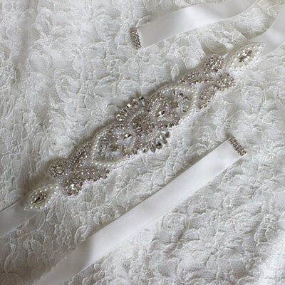 3357 Luxury Bride Wedding Dress Accessories Handmade Girdle Decoration Belts