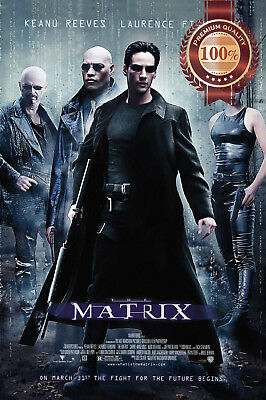 New The Matrix 1 Official Original First Movie Film Cinema Print Premium Poster